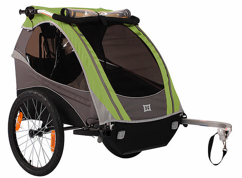 The Burley D'Lite kids' trailer. Photo: Burley