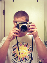 Feb 12 of 12: GA645Zi Self-portrait