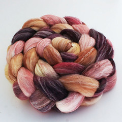 Creme Truffle on Merino Bamboo Silk