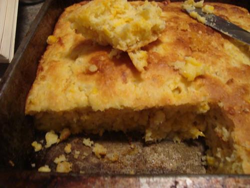 cheezy corn bread