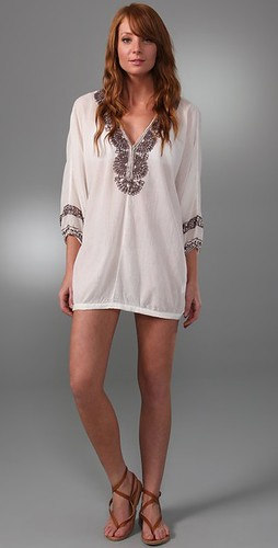 Joie a la Plage embroidered bahamas tunic
