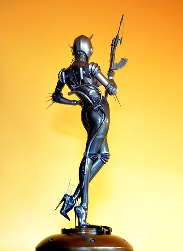 Sorayama figure.