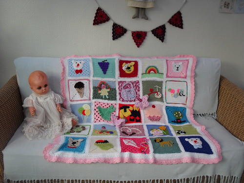 Ta - Dah! Introducing SIBOL 54! 'The Young at Heart' Blanket.