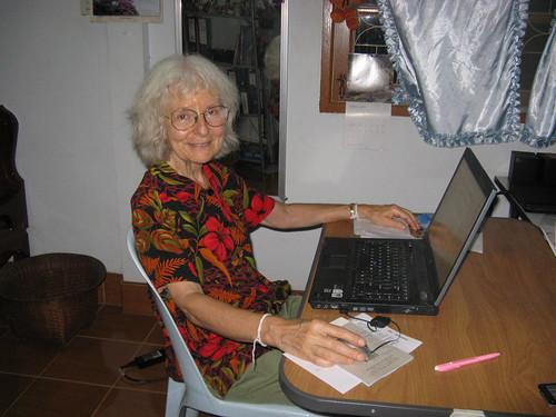 Mundo Exchange volunteer Linda Danielson