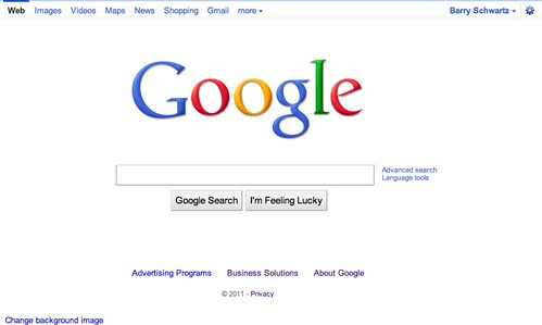 Google New Top Bar