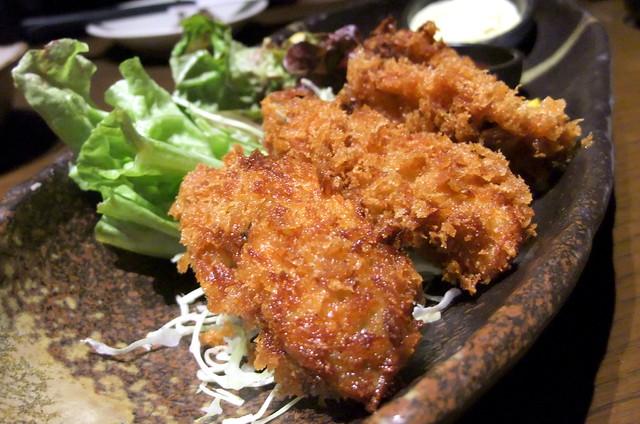 Kaki Fry: Fried Oysters
