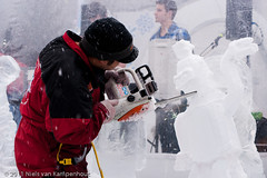 Winterlude Ice Carving Competition