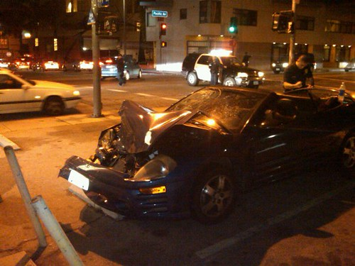 Car Accident Venice Beach