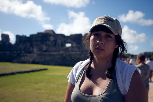 sad tourist