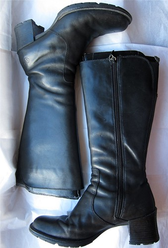 Ebayed: Black Timberland Mid-Calf Boots