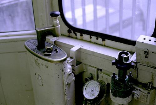 玉電 東急デハ60型 運転席