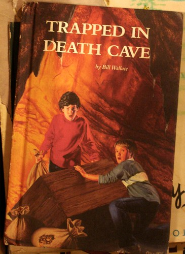 Book Cover: Trapped in Death Cave