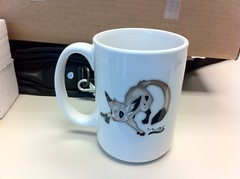 Front of the Meeroos Mug (levio.serenity) Tags: coffee mug unbox meeroos