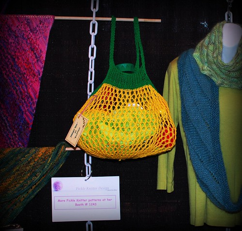 Lemon Market Bag at Foxy Knits