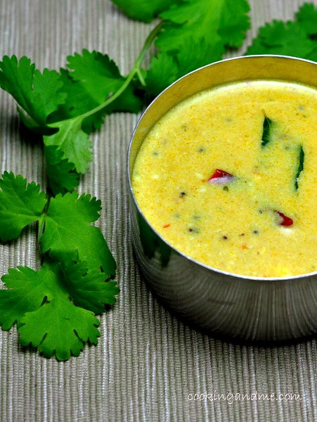 green mor kozhambu recipe
