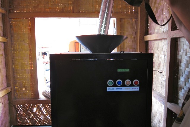 automated coffee dryer and roaster