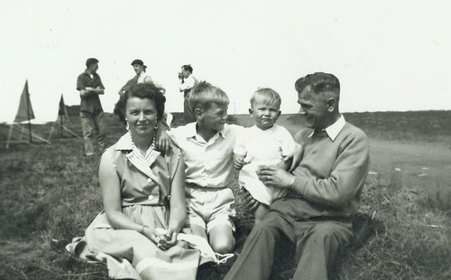 McCreath family at 150 BB camp at Maidens 1958