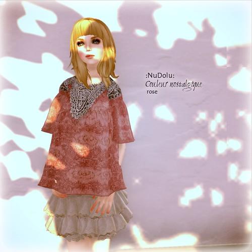 NuDoLu Couleur nostalgique rose AD