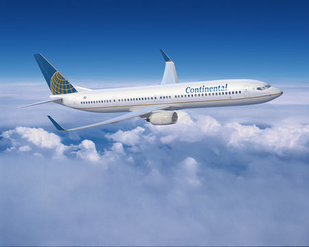 Continental Airlines: Popular Aerolinea Americana