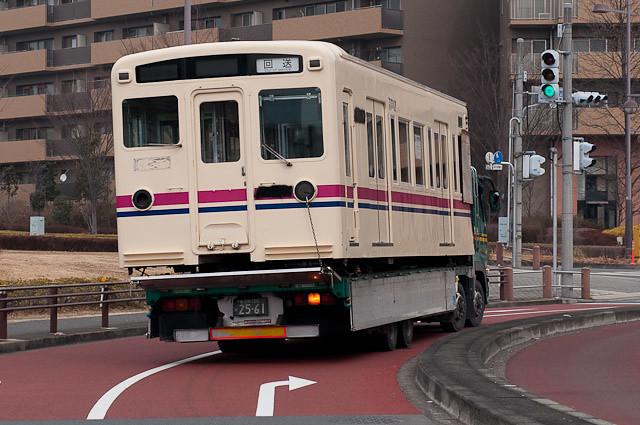京王電鉄6000系6412F 廃車解体搬出