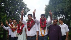 ROHIT CHAHAL ABVP (DUSU Elections 2009-10) (rohit_chahal) Tags: elections rohit chahal 200910 abvp dusu