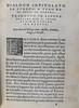 Page of text from Dialogo intitolato la strega