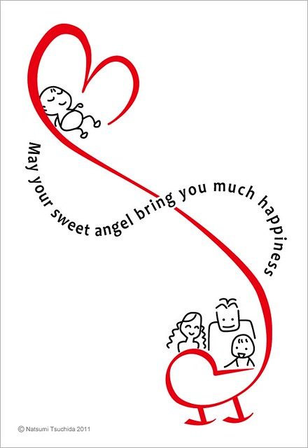 赤ちゃん誕生祝いカード Congratulations New Baby Cards 2-1