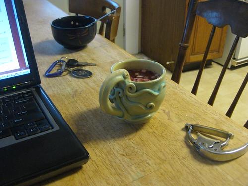 Squid mug February 2011 005