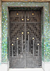 Wrought Iron Door, Casablanca (colros) Tags: artdeco