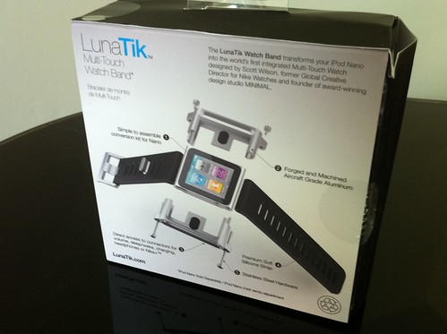 LunaTik iPod Nano Watch Band box (Back)