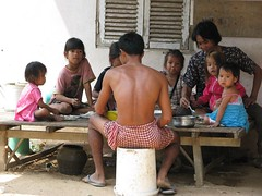 Sunday lunch (Khmer Pure Project) Tags: family sea people food kids children asian lunch asia cambodge cambodia southeastasia cambodians khmer delta mekong kampuchea