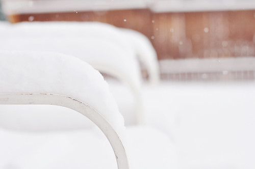 Snow On the Lawn Chairs
