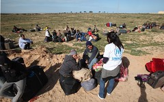 Emergency situation in Tunisia (UNHCR) Tags: africa camp tunisia refugees border egypt relief staff help aid violence emergency tension libya assistance unhcr insecurity northernafrica humanitarianaid unrefugeeagency humanitariancrise rasdjir egyptianrefugees