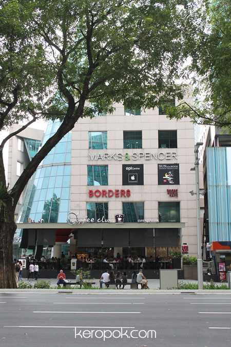 Borders Books Singapore