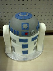 R2D2 Cake - front
