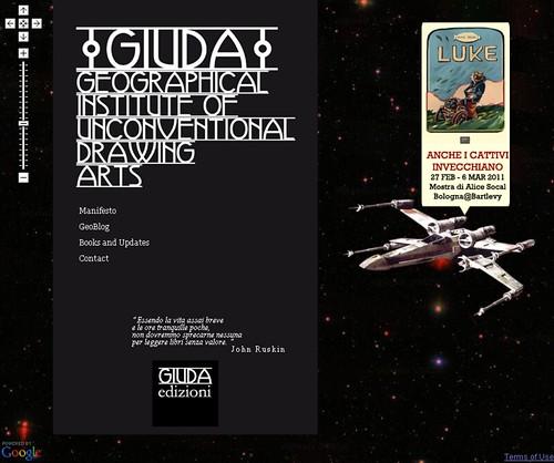 Luke GIUDAedizioni Google (space) Maps