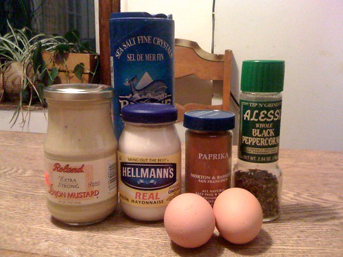 deviled eggs ingredients