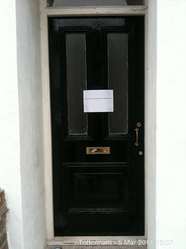 Door of 35 Lausanne Rd