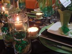 P1011716 (dining delight) Tags: irish black green kitchen beer candle ivy stpatricksday leprechaun potofgold sharmrock