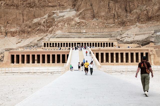 エジプト ルクソール ハトシェプスト女王葬祭殿