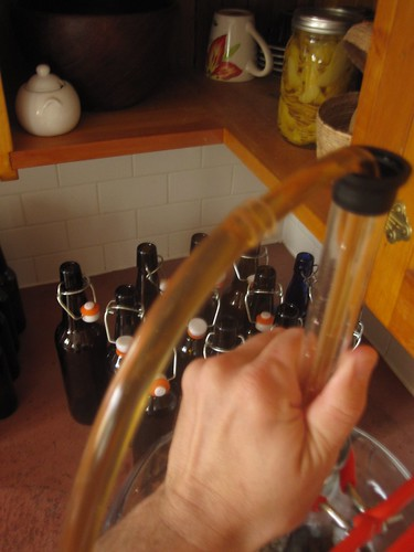bottling the Prescott Juniper Pale Ale - 3