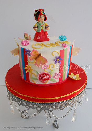2011-03 Korean 1st Birthday Hanbok Dol Cake