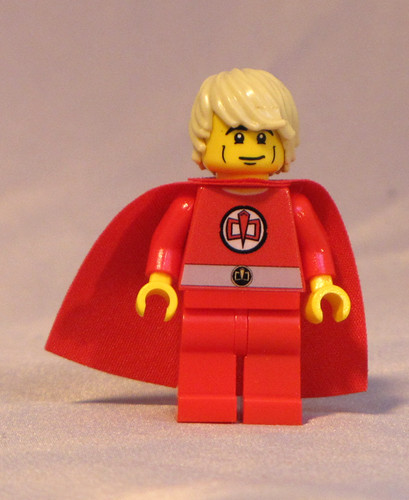 Custom minifig The Greatest American Hero