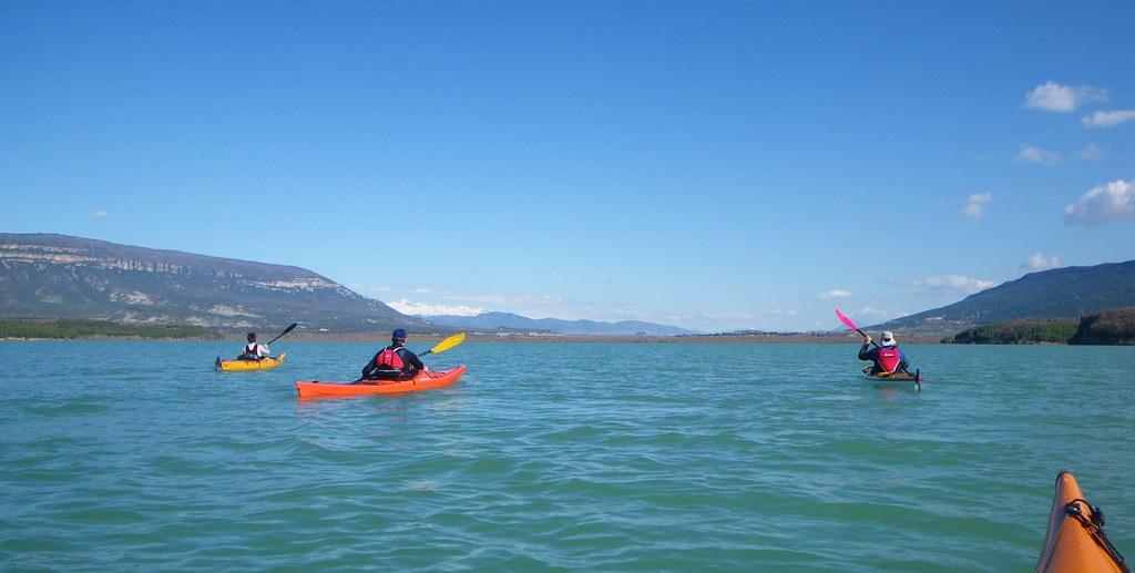 Pantano de Yesa en kayak 030