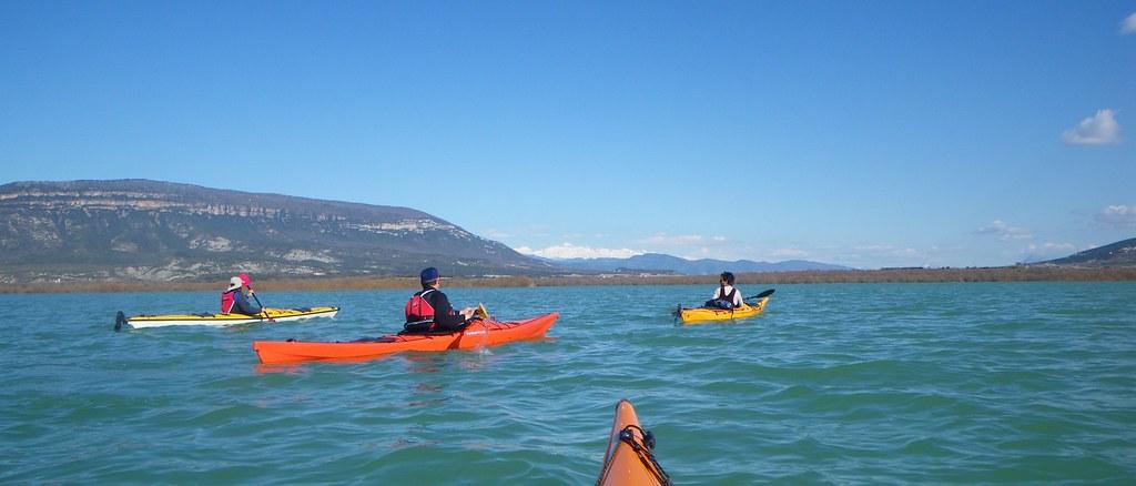 Pantano de Yesa en kayak 040