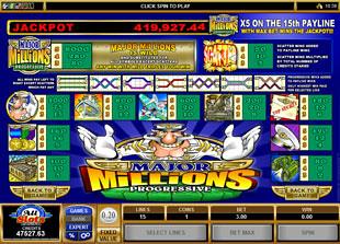 free Major Millions slot mini symbol
