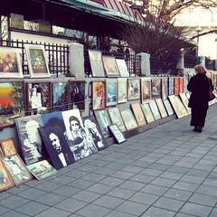 Street art (Zeljka_R) Tags: pictures street art women walker selling