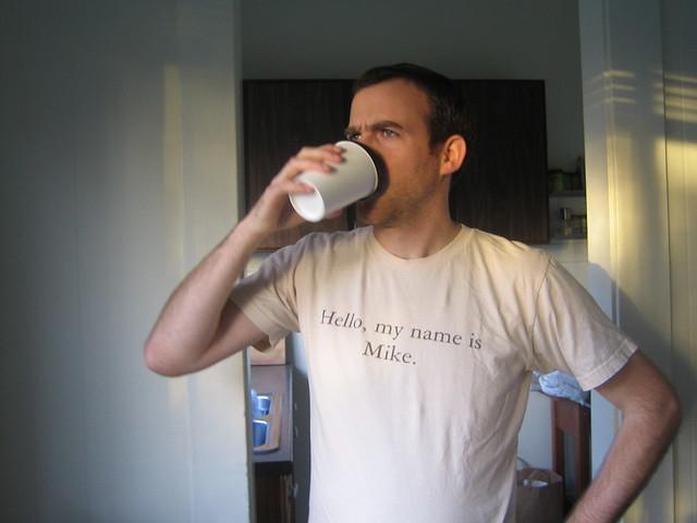 Drinking A Cuppa Joe