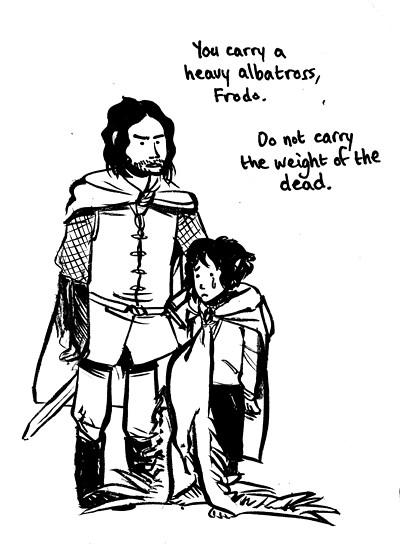 """frodo""""s burden"""