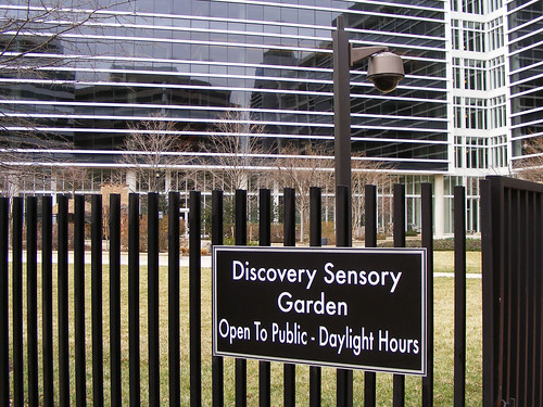 The Discovery Sensory Garden Is Never Open